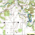 Map to Anderson Falls park courtesy of Indiana Department of Natural Resources.