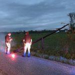 Storm damage photo courtesy of Bartholomew County Sheriff's Department